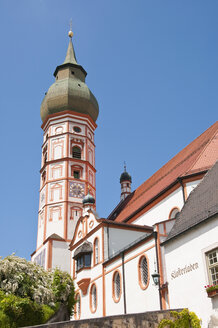 Germany, Bavaria, View of Andechs Abbey - UMF000631