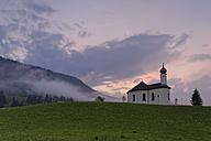 Austria, Tyrol, Schwaz, View of St Annes Chapel in Achenkirch - GFF000201