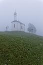 Austria, Tyrol, Schwaz, View of St Annes Chapel in Achenkirch - GFF000203