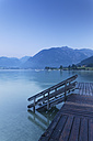 Austria, Tyrol, View of Jetty at Lake Achensee - GFF000193