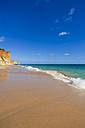 Portugal, Lagos, View of Porto de Mos beach - WDF001892