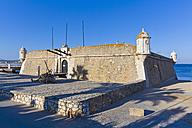 Portugal, Lagos, View of Forte da Ponta da Bandeira - WDF001868