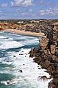 Portugal, Lagos, View of sea - WDF001859