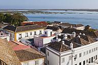 Portugal, Faro, View of historic centre and lagoon - WDF001826