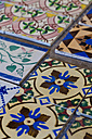 Portugal, Faro, Varieties of ceramic tilework - WDF001820