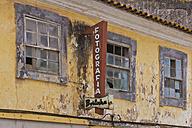 Portugal, Lagos, Run down photo shop - WD001763