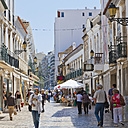 Portugal, People at pedestrian area - WD001758