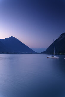 Austria, Tyrol, View of Achensee at dawn - GF000185