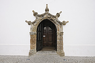 Portugal, Door of parish church - RUE001133