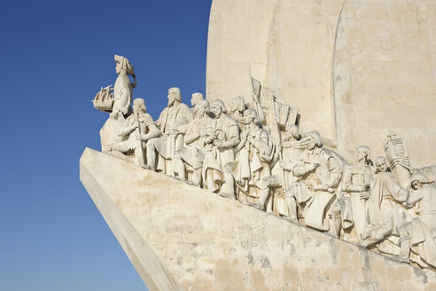 Portugal, Lisbon, Belem, Monument of discoveries - RUE001135