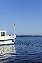 Germany, Bavaria, View of tourist boat on Lake Ammersee - LH000256