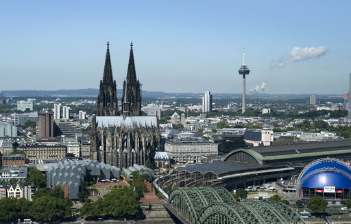 Germany, North Rhine Westphalia, Cologne, View of Cologne Cathedral - OD000302