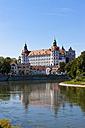 Germany, Bavaria, View of Neuburg Castle - AM000890