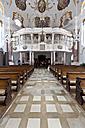Germany, Bavaria, Gunzburg, Interior of Church of Our Lady - AM000885
