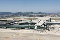 Spain, View of Barcelona airport - ON000221