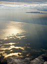 Spain, View of aerial landscape at sunset - ONF000223