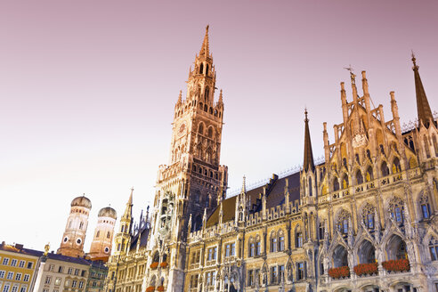 Germany, Bavaria, Munich, New Town Hall at Marienplatz - MSF002986