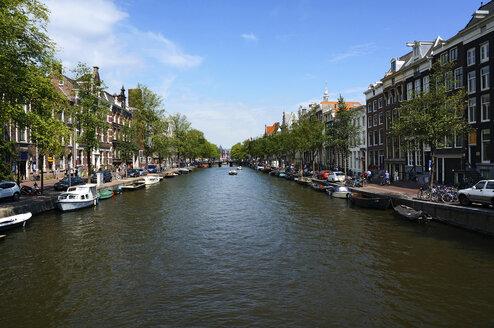 Netherlands, Amsterdam, Kloveniersburgwall, view to Nieuwmarkt - HOHF000230