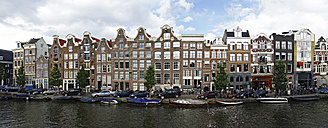 Netherlands, Amsterdam, Prinsengracht, typical historic buildings - HOHF000234