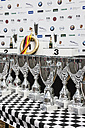 Germany, Rhineland-Palatinate, Nuerburgring, trophies for vintage car championship - AM000913
