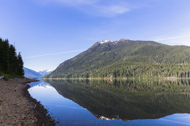 Canada, Vancouver Island, Strathcona Provincial Park, Buttle Lake - FOF005332