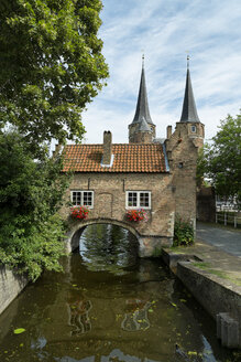 Netherlands, Delft, View to Oostpoort - ELF000426