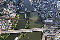Germany, Rhineland-Palatinate, Moselle River at Koblenz, aerial photo - CSF019954