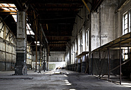 Germany, Bavaria, Munich, old industry hall - BME000009