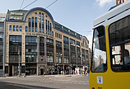 Germany, Berlin, Hackescher Markt, tram - BFR000288