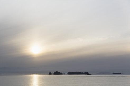 Canada, British, Columbia, Vancouver Island, Inside Passage - Port Hardy, Prince Rupert, sunset - FOF005344