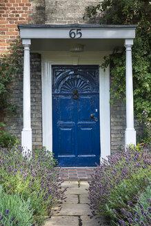 United Kingdom, England, Norwich, Entry door in the old town - EL000442