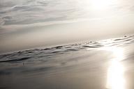 Croatia, Mediterranean Sea, ocean, boat at horizon - FMKF000895