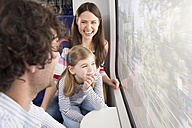 Happy family in a train - KFF000272