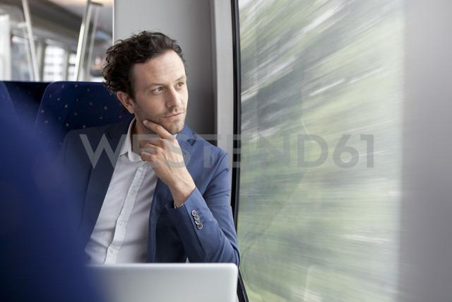 Businessman in a train - KFF000223