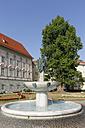 Austria, Carinthia, Klagenfurt, fountain built by Kiki Kogelnik - SIE004450