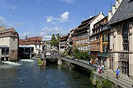 France, Bas-Rhin, Strasbourg, La Petite France, Quai des Moulins - LB000288