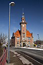 Germany, North Rhine-Westphalia, Dortmund, old harbour office - WI000080