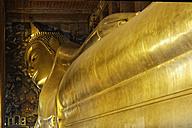 Thailand, Bangkok, Reclining Buddha at temple Wat Pho - GF000264
