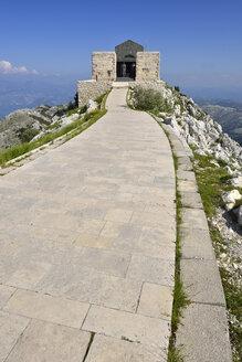 Montenegro, Lovcen National Park, View of Njegusi Mausoleum - ES000588