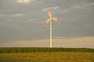 Germany, Baden-Wuerttemberg, wind farm Tomerdingen - WGF000057