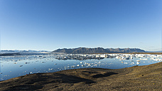 Iceland, Austurland, Jokulsarlon Glacial Lagoon near Vatnajokull National Park - STSF000157