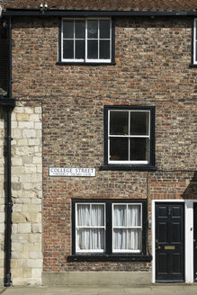 Great Britain, England, York, old town, town house - EL000503