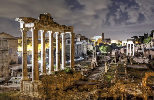 Italy, Rome, Roman Forum, Arch of Septimius Severus - STD000033
