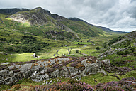 Great Britain, Wales, Gwynedd, Ogwen Valley, Snowdonia National Park - ELF000513