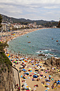 Spain, Catalonia, La Selva, Costa Brava, beach of Lloret de Mar - WI000142