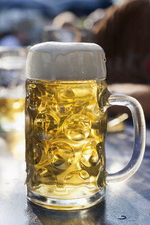 Germany, munich, one liter of beer - TCF003594