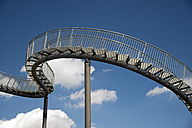 Germany, Duisburg, View of Tiger and Turtle art installation at Angerpark - WG000070
