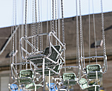 Germany, Bavaria, Fuerth, Kirchweih, chairoplane, seats - HL000251
