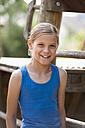 Portrait of smiling girl - KJF000267
