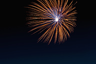 Fireworks exploding in the sky at night - KJF000272